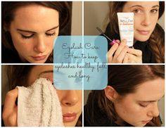 Ellee: Beauty Tip: Eyelash Care...