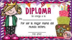 Resultado de imagen para diploma para mama