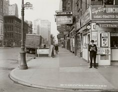 6th Ave and West 40th St, NYC. May 18, 1940.