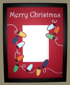 Custom Personalized Christmas Frame by personalizedframing on Etsy, $75.00