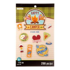 Happy Camper Sticker Book By Creatology