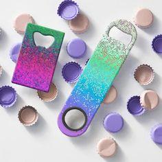 SOLD Bottle Openers  Glitter Star Dust! http://www.zazzle.com/medusa81/gifts?cg=196574818764251985 #Zazzle #bottle #openers #glitter #star #dust  #colorful #sparkley