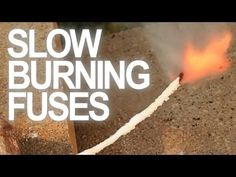 How to Make Slow Burning Fuses from Yarn, Sugar, & Potassium Nitrate « Mad Science