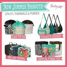 Summer 2014 - Thirty One Gifts www.mythirtyone.com/181981