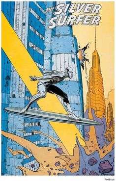 Silver Surfer by Moebius