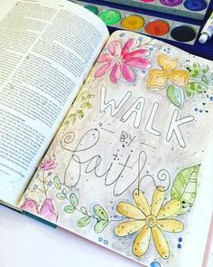 fun Bible journaling idea from Magnolia and Magenta