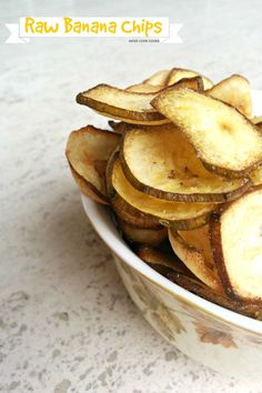 Learn How To Make Banana Chips with just 3 ingredients at home! Say bye to funny smelling store bought banana chips & make your own!