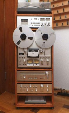 Vintage Audio Stereo Hi Fi Akai
