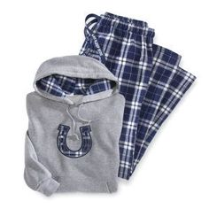 Plaid Horseshoe Hoodie - Horse Themed Gifts, Clothing, Jewelry and Accessories all for Horse Lovers | Back In The Saddle
