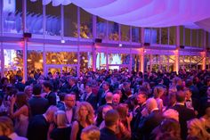Vanity Fair Oscar Party Guests gathered in the interior cocktail area - BWArchitects - Designed by the New York City based Architecture firm BWArchitects. Hill City, Life Plan, Vanity Fair Oscar Party, Experiential, Cocktail, Parties, Fire, Invitations, Architecture