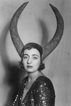 Princess George Imeritinsky wearing her costume for the 'Pageant of the Superstitions' in aid of the Queen Charlotte Maternity Hospital Maintenance Fund. October 1930