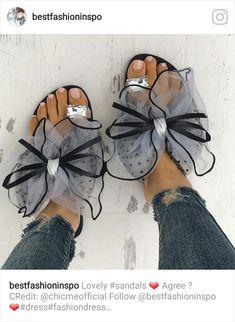 677026d70d751 Shop Sandals Fashion Cute Big Bow Tie Sandals Non Slip Flat Sandals