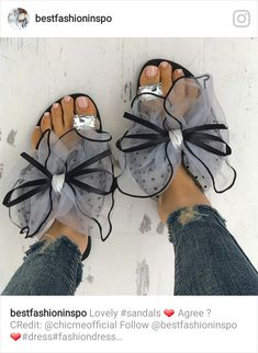 9b9ebb1bd6f941 Shop Sandals Fashion Cute Big Bow Tie Sandals Non Slip Flat Sandals
