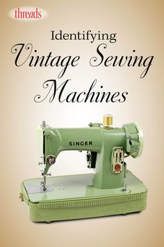 sewing patterns Resources and information on finding and identifying awesome vintage sewing machines. - If you've inherited an antique sewing machine, how can you identify the model and the mystery parts left in its drawers? Sewing Machine Repair, Sewing Machine Thread, Sewing Machine Tables, Treadle Sewing Machines, Antique Sewing Machines, Sewing Tables, Singer Sewing Machines, Dressmaker Sewing Machine, Sewing Machine Drawers