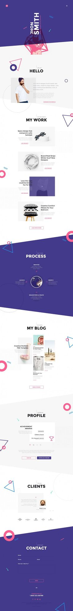 Me Creative Portfolio Web Design (Designer Unknown)                                                                                                                                                                                 More
