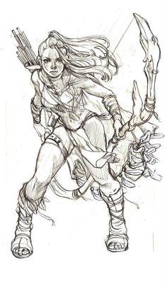 Drawing , TB Choi on ArtStation at https://www.artstation.com/artwork/55kLO