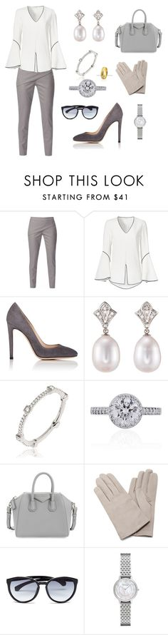 """Visiting N.Z police college"" by dezac-novaes on Polyvore featuring WtR London, Derek Lam, Gianvito Rossi, Julia Failey, Annoushka, Tiffany & Co., Givenchy, Maison Fabre, Calvin Klein and Emporio Armani"