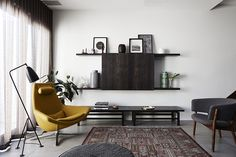 Modern with a midcentury riff
