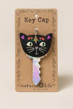 I Love My Cat Black Key Cap
