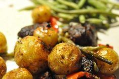 Kartofler i ovn med oksekød & soltørret tomat | nogetiovnen.dk