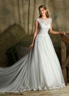 traje de novia de la firma davinci bridal
