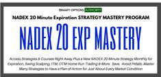 First of all our Binary Options MASTERY – Super Strategy Trader Mastery Coaching Program Membership kicks tail! If you're really looking to make a turn around or purposefully and methodically become a great trader you'll certainly want to be in this program as we advance layer by layer overtime and as you learn the fundamentals and how to implement them for becoming a top-level trader. Also over time we're going to introduce new breakthroughs through these memberships and you get first dibs at a