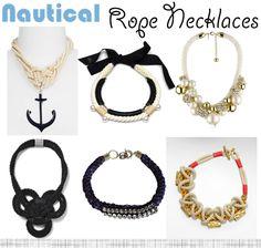 nautical rope statem