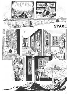 Will Eisner, one of the best graphics artist.