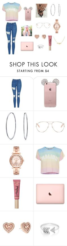 """""""Old set but o well"""" by enchantedgirl44220 on Polyvore featuring Topshop, Bling Jewelry, Chloé, Michael Kors, Wildfox, Too Faced Cosmetics and EF Collection"""