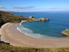 Playa de Torimbia en Niembro, Asturias