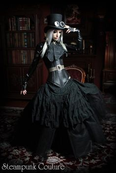 kato steampunk couture | Steampunk Couture by Kato Fall/ Winter 2011 Preview