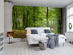 Wall Mural R10141 Forrest image 1 by Rebel Walls