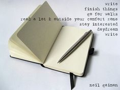 Neil Gaiman about writing.