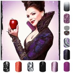 Once Upon a Time Nails!  Love that show.  http://amclark62.jamberrynails.net/ www.facebook.com/alyssasjbnails