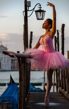 Grand Ballet Light -  on the Grand Canal outside San Marcos Square in Venice at sunrise
