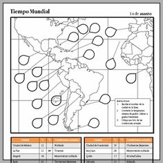 Spanish speaking countries maps and quizzes map quiz spanish whats the weather like in the spanish speaking world in march check out this fun spanish worksheet to practice geography weather numbers gumiabroncs Images