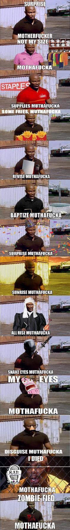 Surprise motherf**ker!