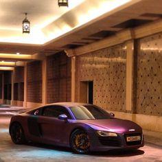 Sexy Purple Audi R8