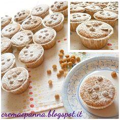 Crema e panna: Muffin agli amaretti e carote con arancia candita