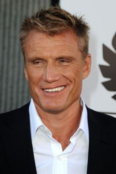 Dolph Lundgren! He still looks just as good as he did in Rocky IV and I still have a huge crush on him ;)