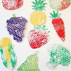 bubble wrap fruits and veggies