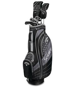 New 2018 Callaway Solaire 8 Piece Womens Golf Package Set - Black or Cherry  Piece 2e44421d7aaf