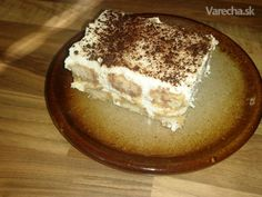 Tiramisu z nátierkového masla Tiramisu, Rum, Ethnic Recipes, Food, Essen, Meals, Rome, Tiramisu Cake, Yemek