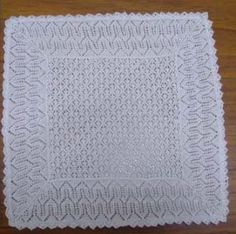 Baby's Lacey Shawl