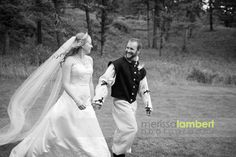 Aly and Isaac's Medievel Wedding at the Woodlands by Merissa Lambert Photography. www.montanawoodlands.com