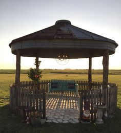 Our Sweet Corn Crib Gazebo, Complete With Fireplace! | Things Weu0027ve Made |  Pinterest | Gardens, Yards And Pergolas