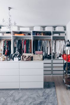 Ankleidezimmer ideen ikea  So habe ich mein Ankleidezimmer eingerichtet und gestaltet ...