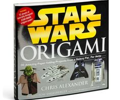 Use the paper, Luke. Enact the Empire vs the Rebel Alliance with the Star Wars Origami Book.Create characters and vehicles straight from the movies. Have fun making cute paper characters and decorate your room with them.
