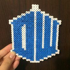 Doctor Who perler beads by postcrossingjunkie