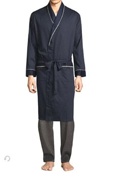 5ca86421ff MENS LUXURY DARK NAVY BLUE STAFFORD BATH ROBE MENS SIZE 2X - 3X 2XL - 3XL  NWT  fashion  clothing  shoes  accessories  mensclothing  sleepwearrobes  (ebay ...